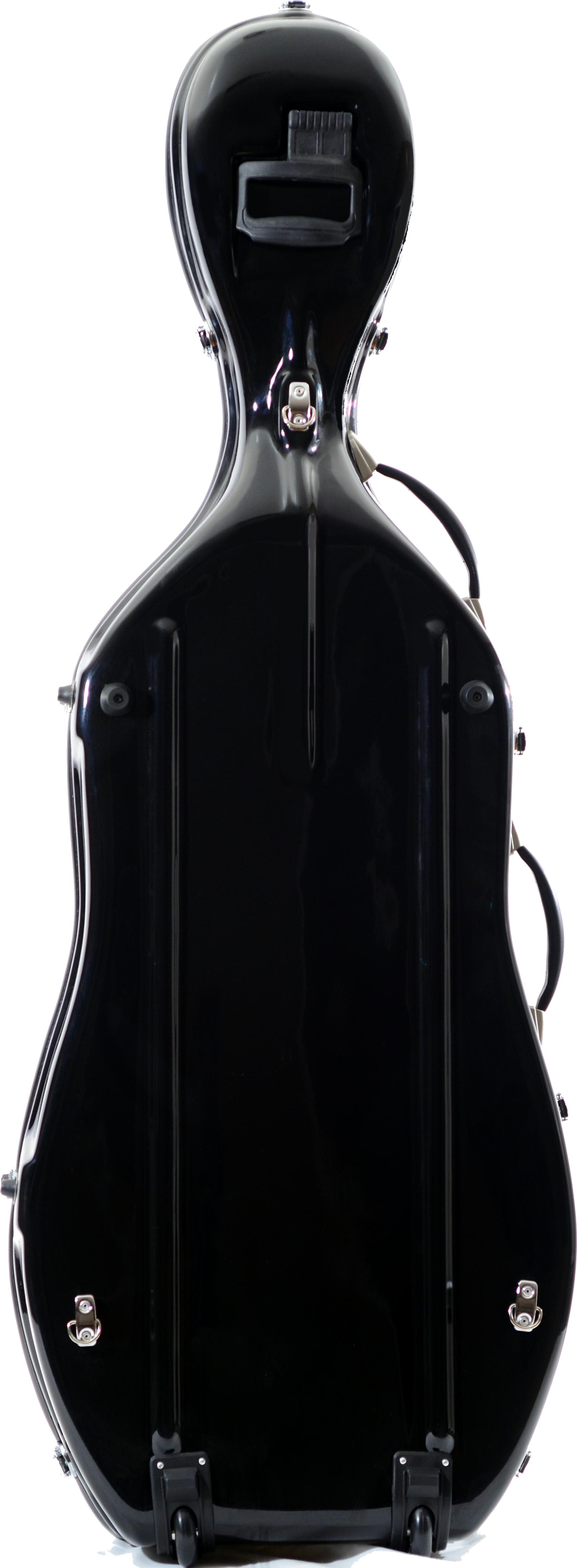 Flight style deluxe cello case atlantic strings cello case black reviewsmspy