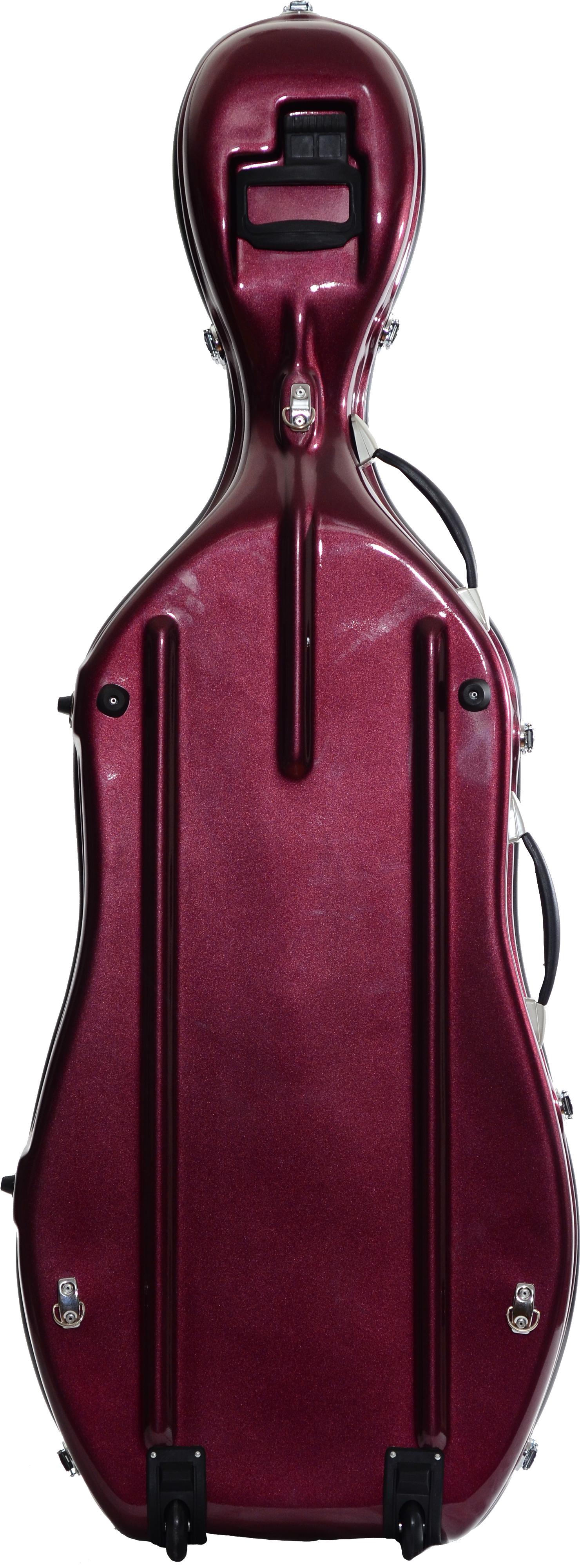 Flight style deluxe cello case atlantic strings cello case plum reviewsmspy