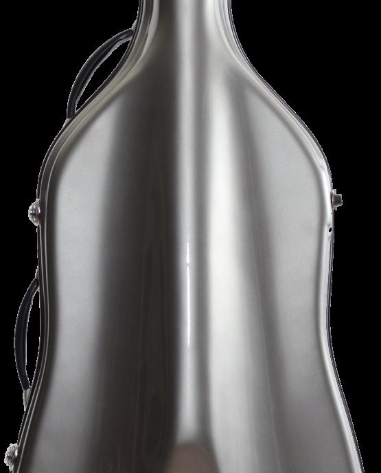 Cello Case Silver Front
