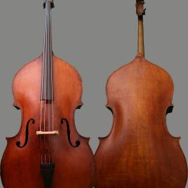Mirecourt 7/8 Bass (c. 1860)