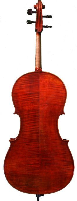 Zeler back cello