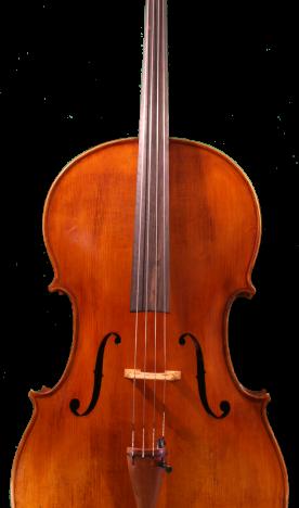 Pogany front cello