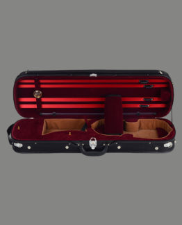Symphony Deluxe Wood Archtop Violin Case