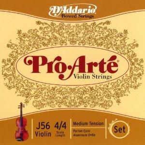 proarte violin strings