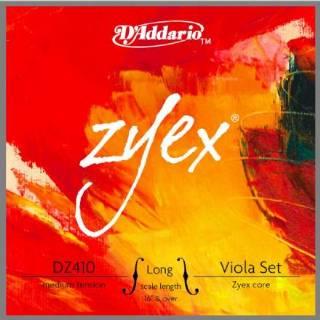 D'Addario Zyex Viola Strings