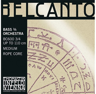 Thomastik Belcanto Bass Strings