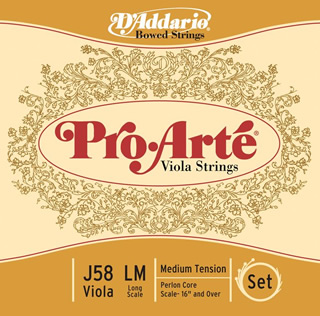 Pro Arte Viola Strings