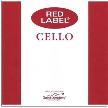 SuperSensitive Red Label Cello Strings