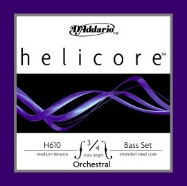 D'Addario Helicore Bass Strings