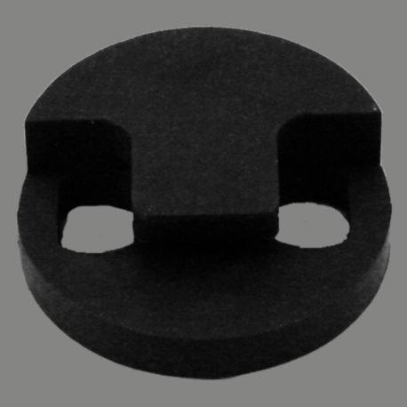Tourte Style Rubber Mute (Black)