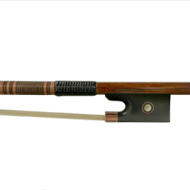 Hermann Luger Violin Master Bow – Carved Gold Mount