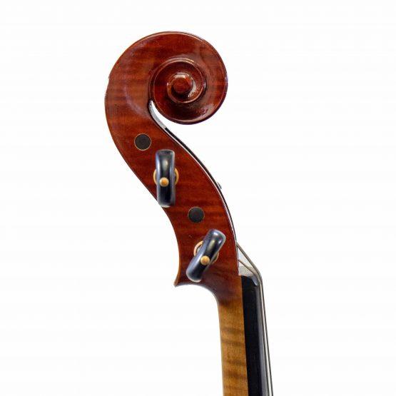 Plamen Edrev Violin scroll