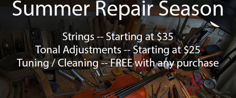 Summer Repair Season