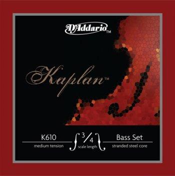 D'Addario Kaplan Bass Strings