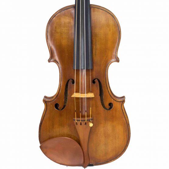 Joseph Baldantoni Violin front body