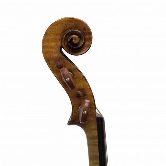 Joseph Baldantoni Violin scroll