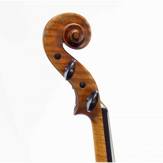 Nicolo Marcasi Violin scroll