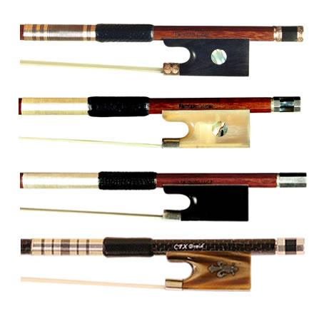 Assortment of Violin Bows