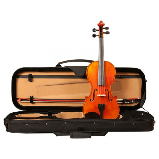 H. Luger CV500 Violin Outfit with Box