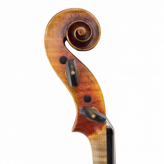 Alard Virtuoso Violin scroll