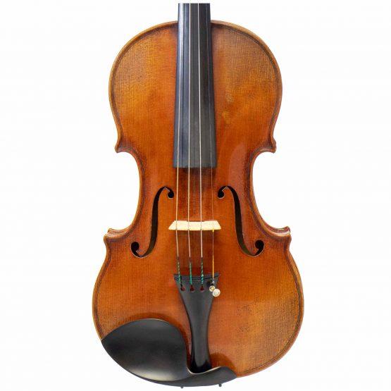 1921 Albert Knorr Violin By Heinrich Heberlein Workshop front body
