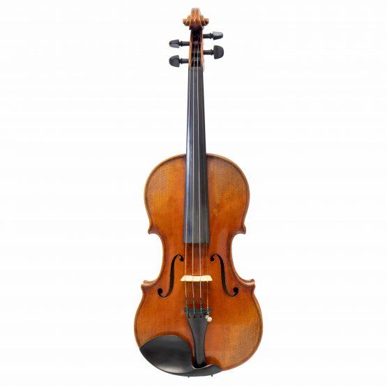 1921 Albert Knorr Violin By Heinrich Heberlein Workshop full front