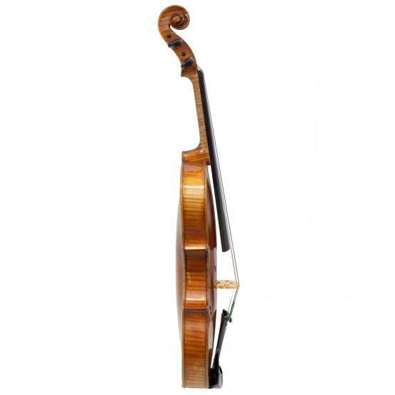 1921 Albert Knorr Violin By Heinrich Heberlein Workshop full side