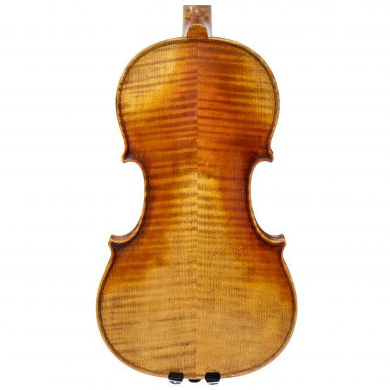 1921 Albert Knorr Violin By Heinrich Heberlein Workshop back body