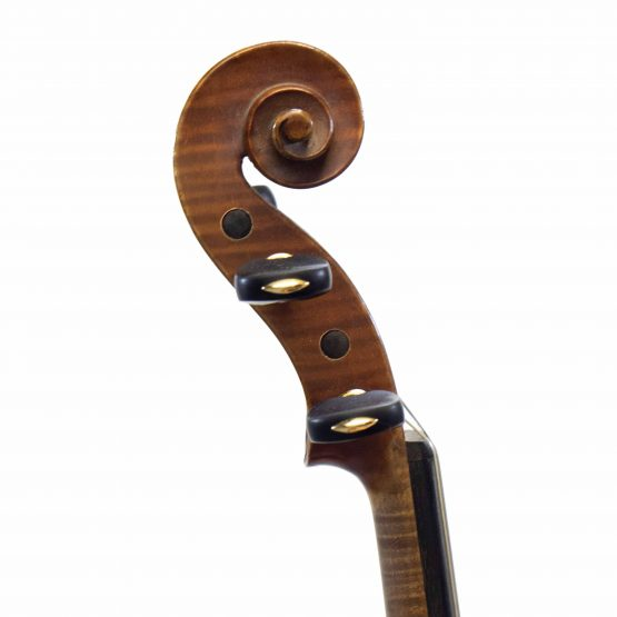 1938 Leon Bernadel Violin scroll