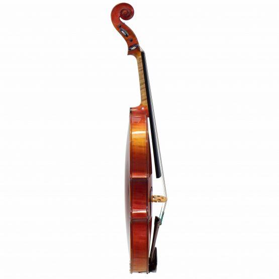 1927 Hughes Emile Blondelet Violin full side