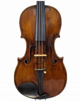 Casper Strnad Violin front body