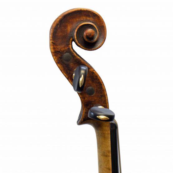 Casper Strnad Violin scroll