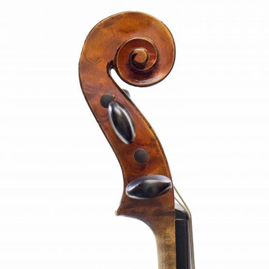 1897 Chipot-Vuillaume Violin scroll