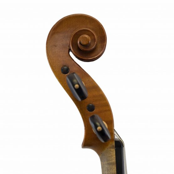 Antonio Curatoli Violin scroll
