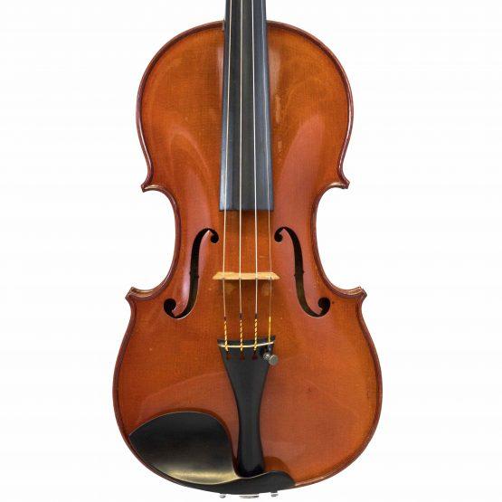 Justin Derazey Violin front body