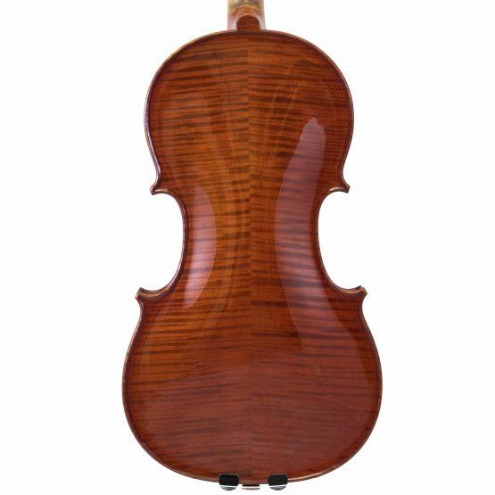 Justin Derazey Violin back body
