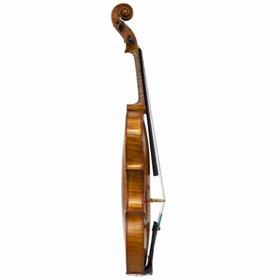 Amédée Dieudonné violin full side