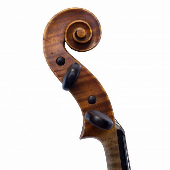 Amédée Dieudonné violin scroll