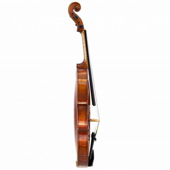 1971 Ernst Saumer Violin full side