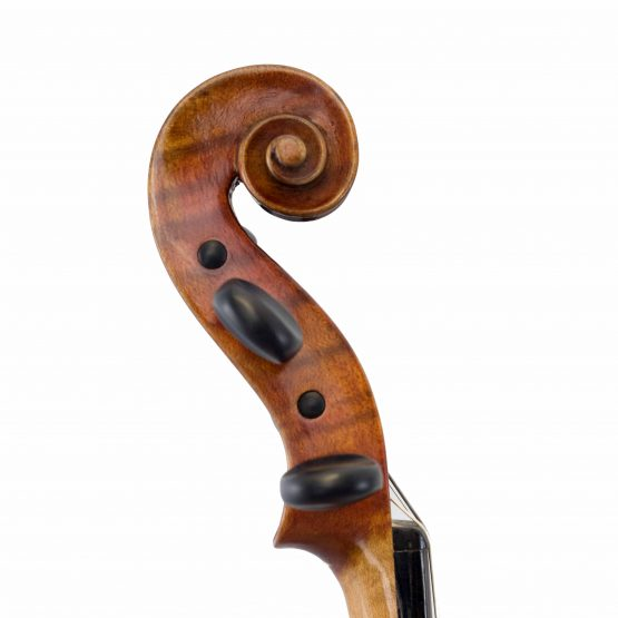 1971 Ernst Saumer Violin scroll