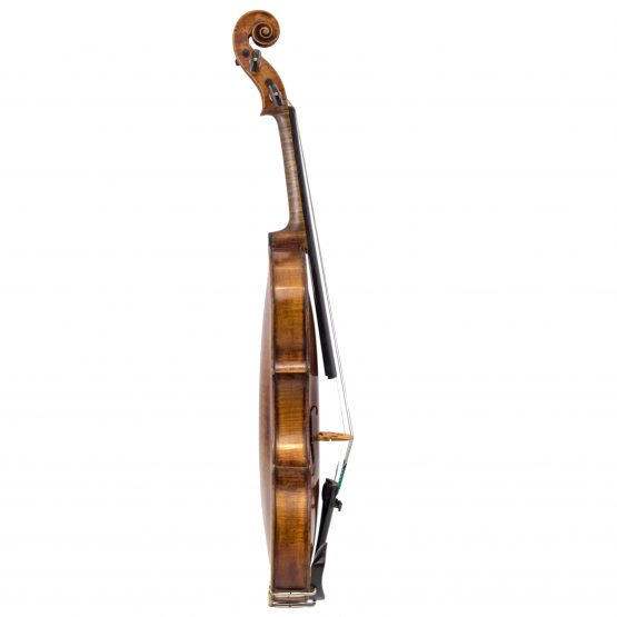 German Amati Pattern Violin full side