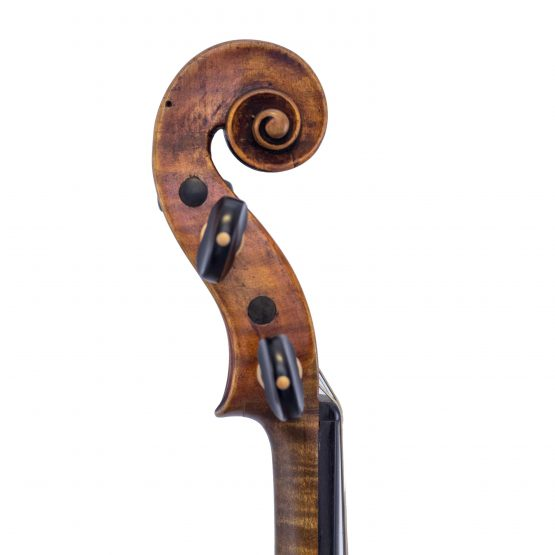 German Amati Pattern Violin scroll