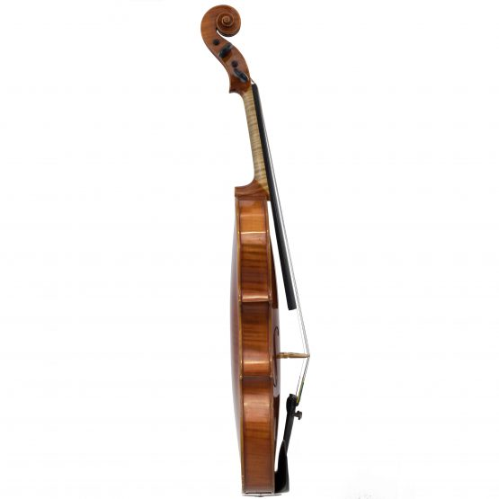 German Guarneri Pattern Violin full side