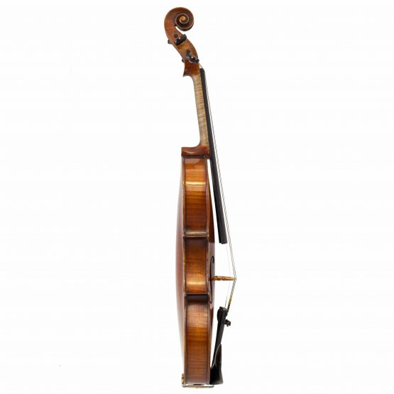 German Strad Pattern Violin full side
