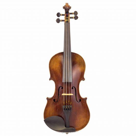German Strad Pattern Violin full front
