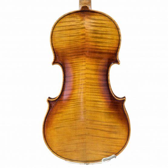 German Strad Pattern Violin back body