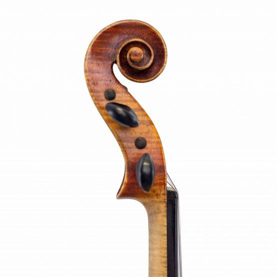 German Strad Pattern Violin scroll