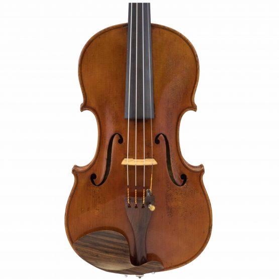 Heinrich Heberlein Violin front body