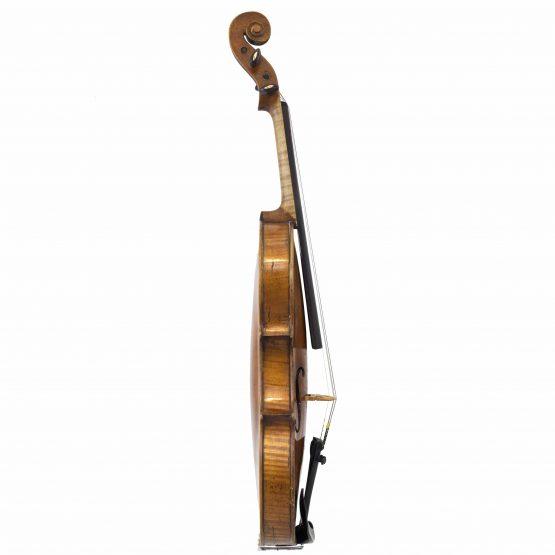 1928 John Juzek Violin full side
