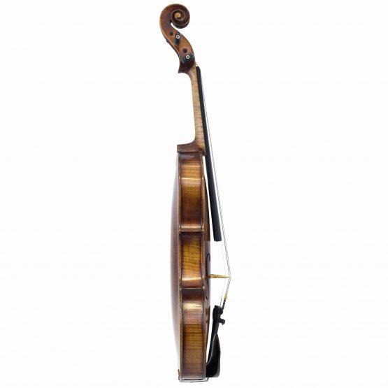John Juzek Violin full side